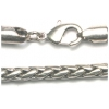 "Chain 18"" Nickel Silver Ox"